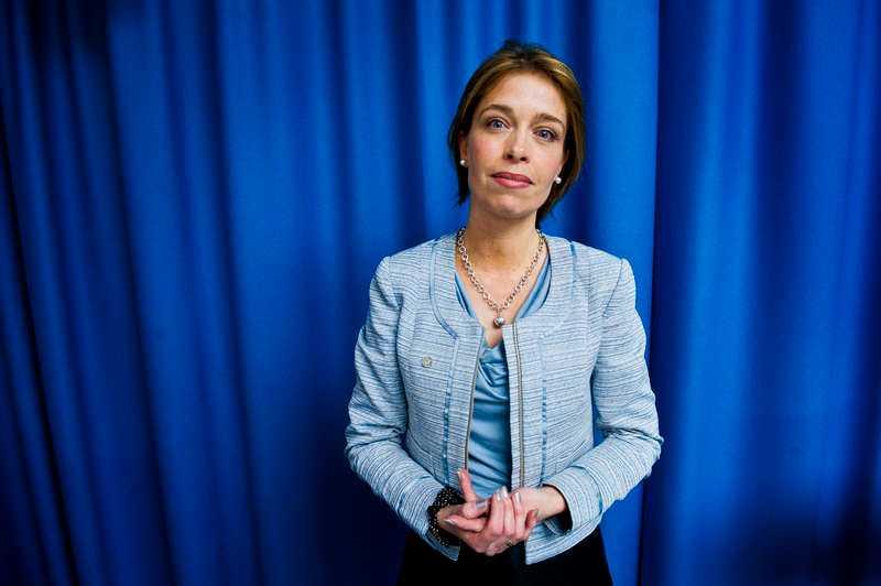 Annika Strandhäll, förbundsordförande Vision