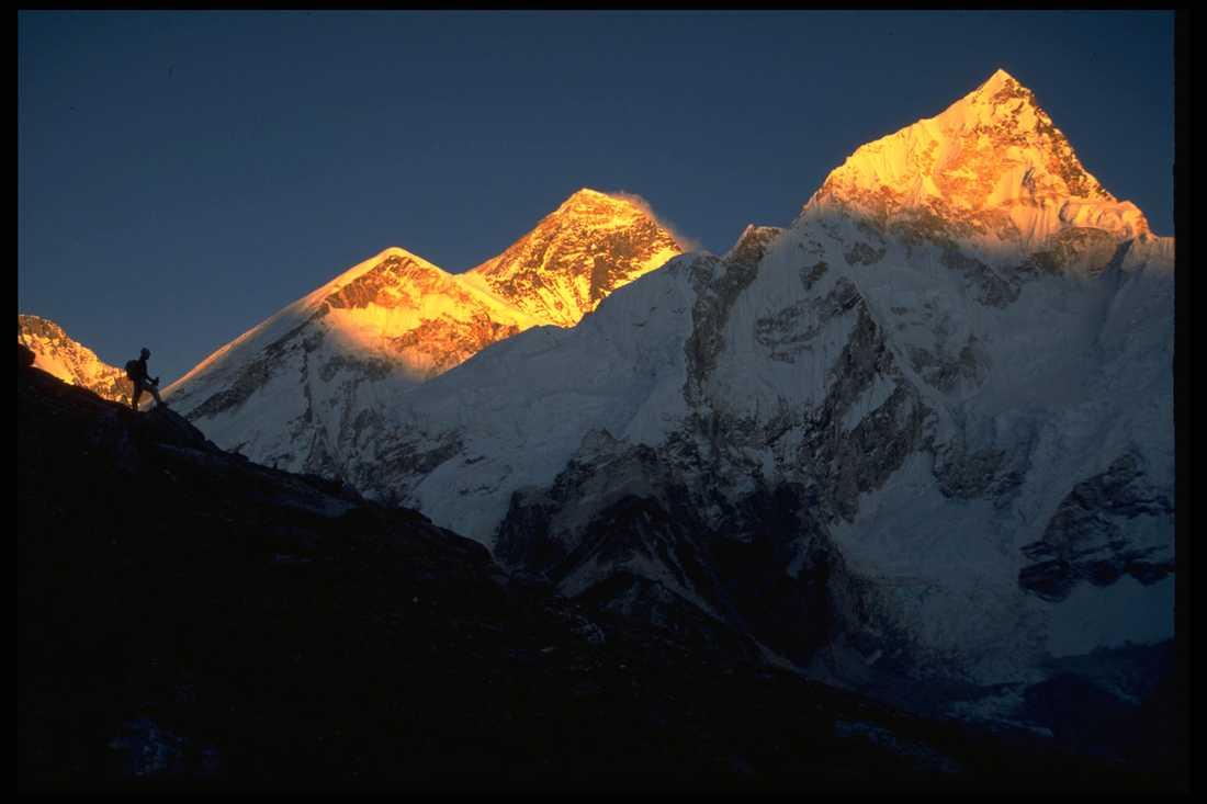 Toppenresa! 30 000 turister strömmar årligen till foten av Mount Everest. Men bara några hundra försöker nå toppen.