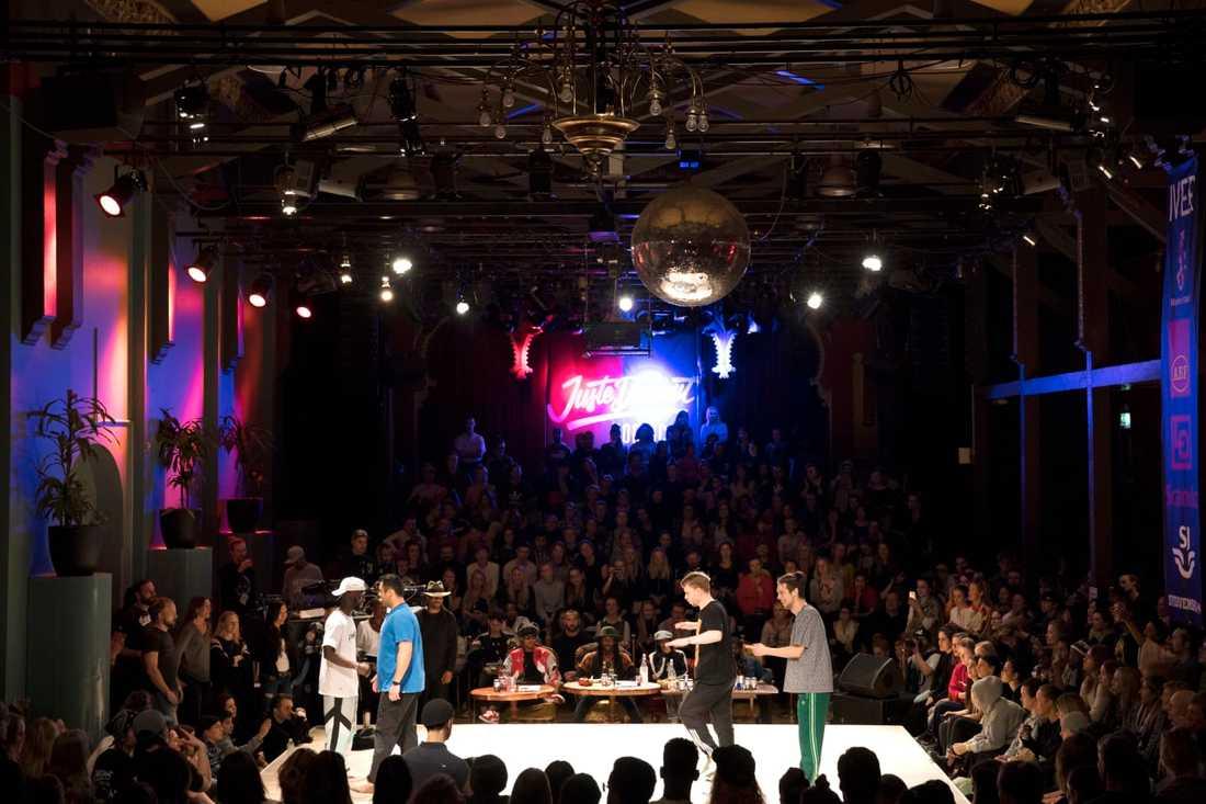 Moriska Paviljongen var fullsatt under Hip Hop Weekend 2018.