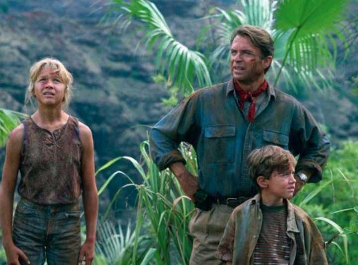 """""""Jurassic park"""" på TV3."""