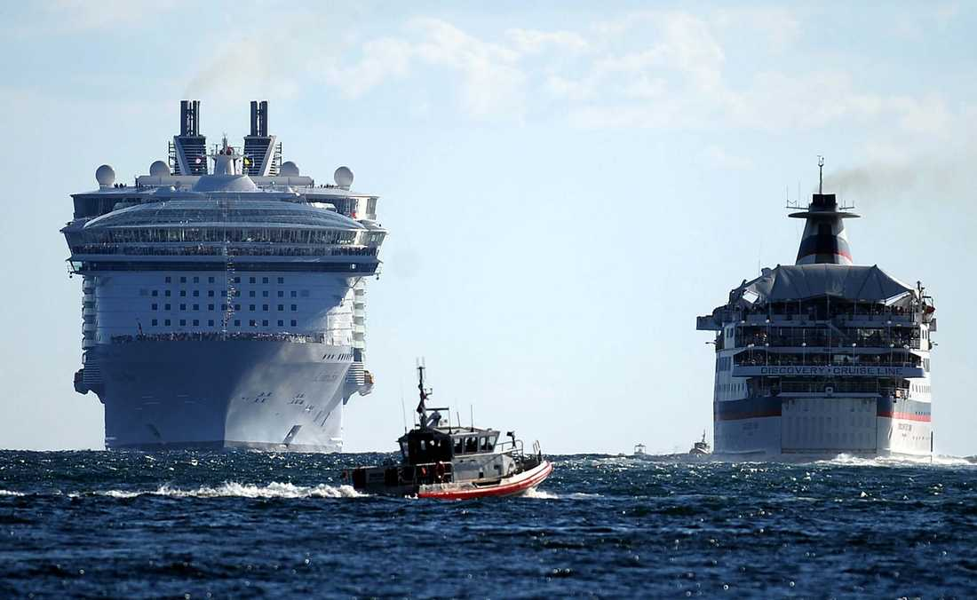 M/S Allure of the Seas.