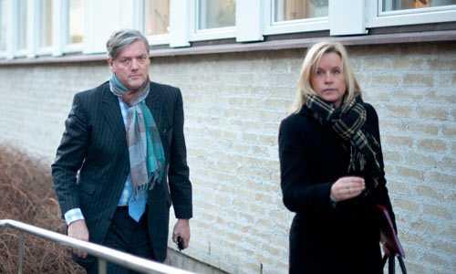 I tingsrätten Victor Muller och Kristina Geers begärde Saab Automobil i konkurs nu på morgonen.