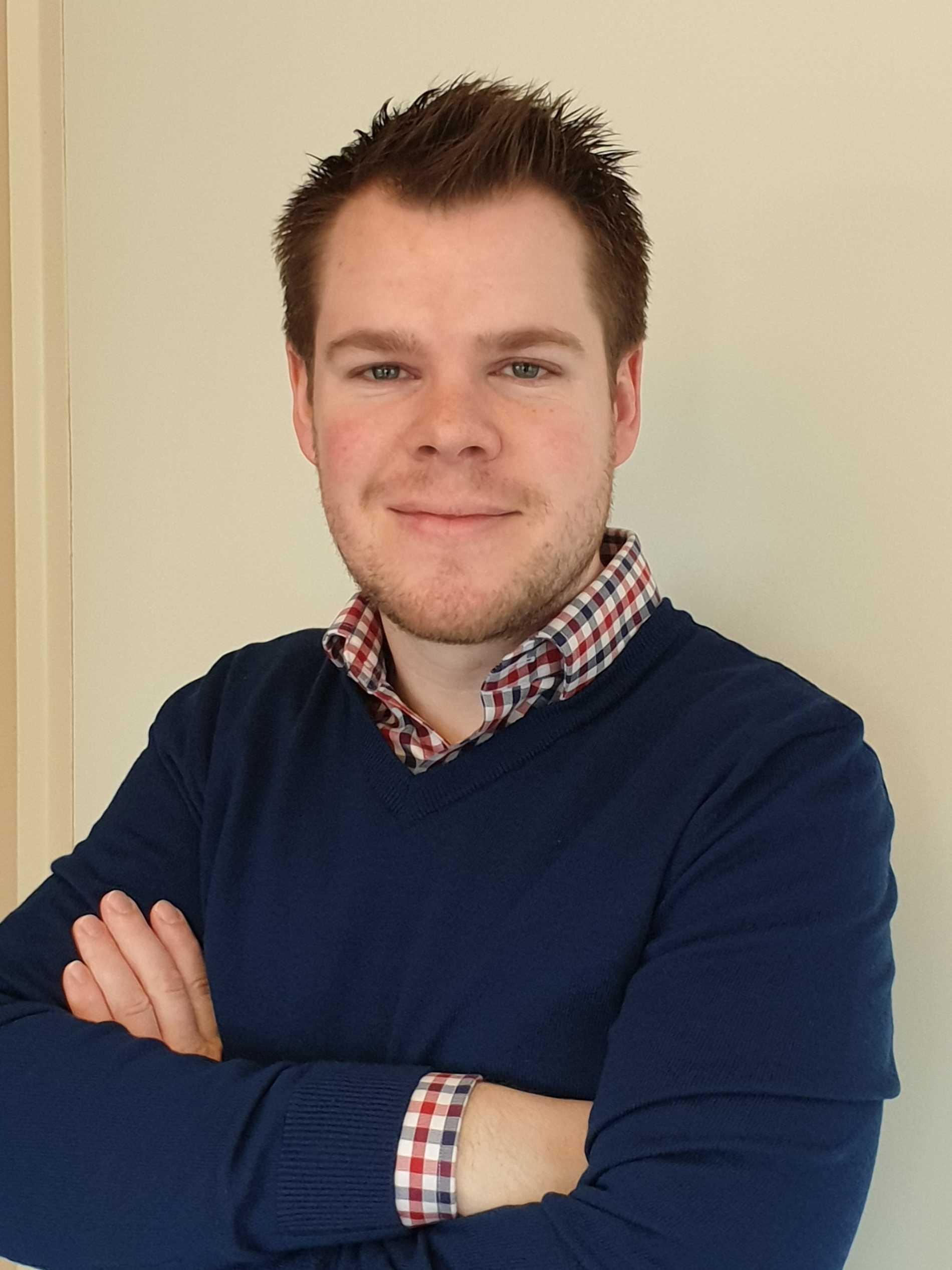 Arne Bergvik, chefsanalytiker på Jämtkraft.