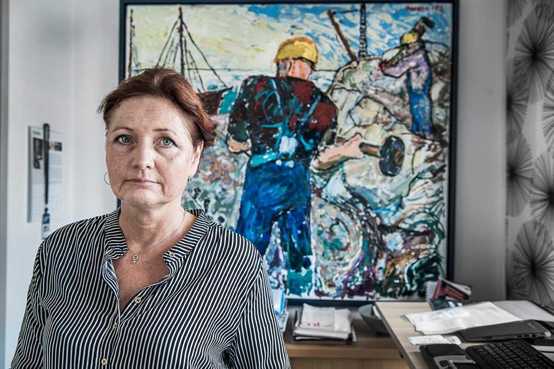 Fackförbundet IF Metalls ordförande Marie Nilsson.