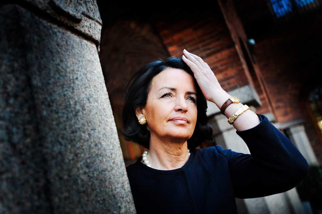 Anne Ramberg, generalsekreterare för advokatsamfundet, anser att regeringens nya förslag går emot grundläggande rättsprinciper. Arkivbild.