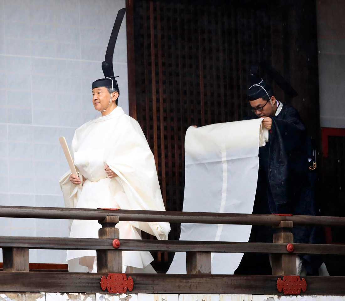 Japans nye kejsare Naruhito.