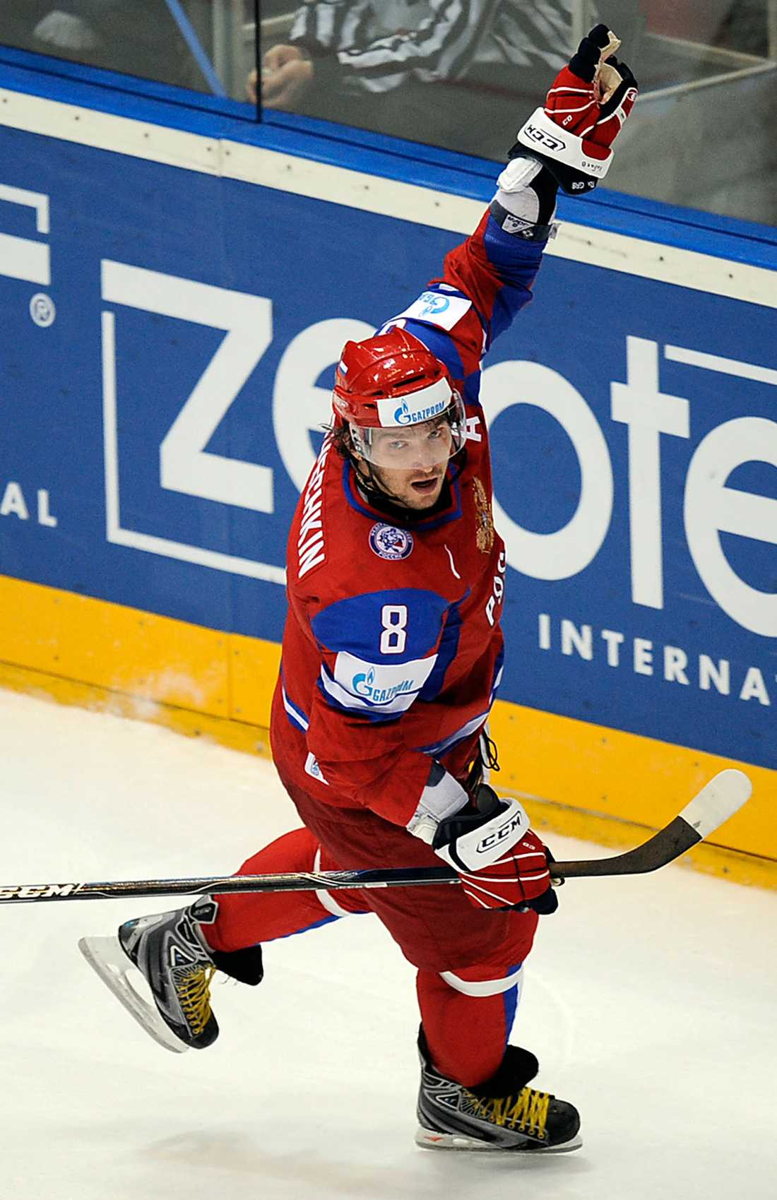 Alexander Ovetjkin avgjorde Rysslands match mot Tyskland.