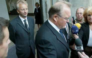 perssons skugga Pär Nuder har arbetat nära Göran Persson i många år. Nu som samordningsminister.