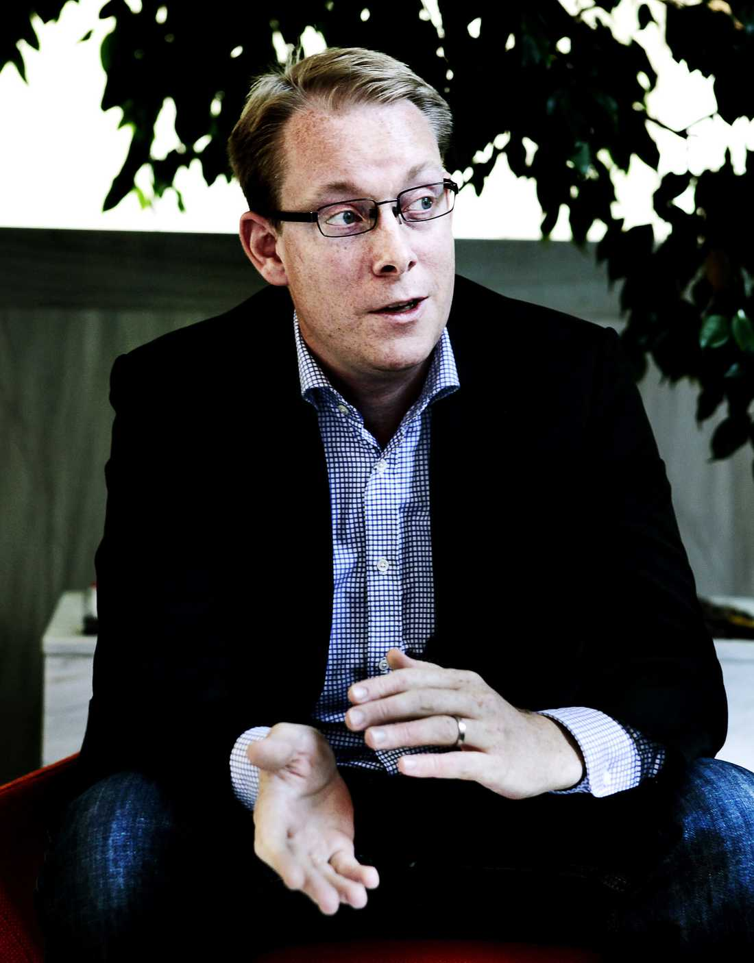 Tobias Billström, (m) Migrationsminister.