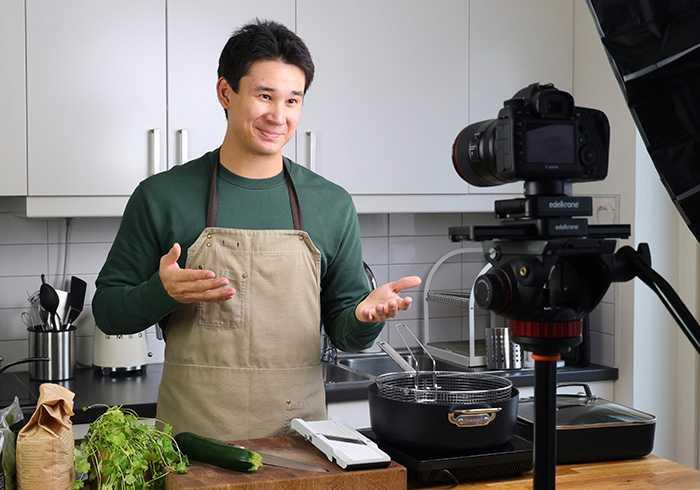 Vad ska jag laga för mat? Få tips av Filip Poon, kock och mat-youtuber.