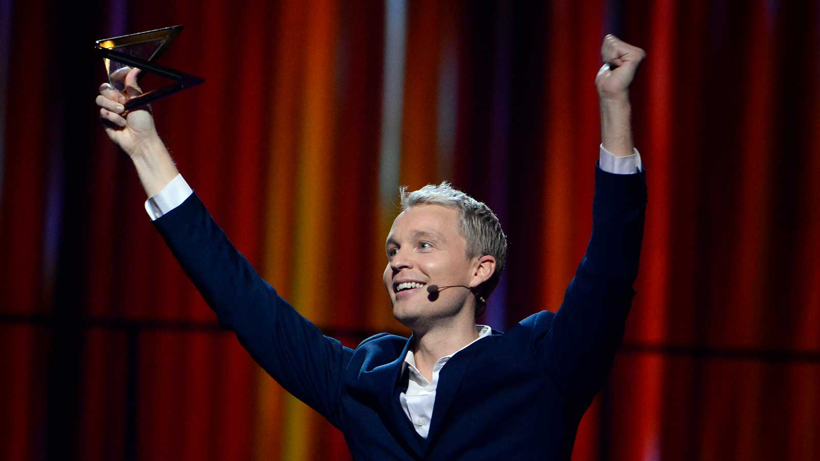Björn Gustafsson gjorde bejublad comeback i Melodifestivalen.