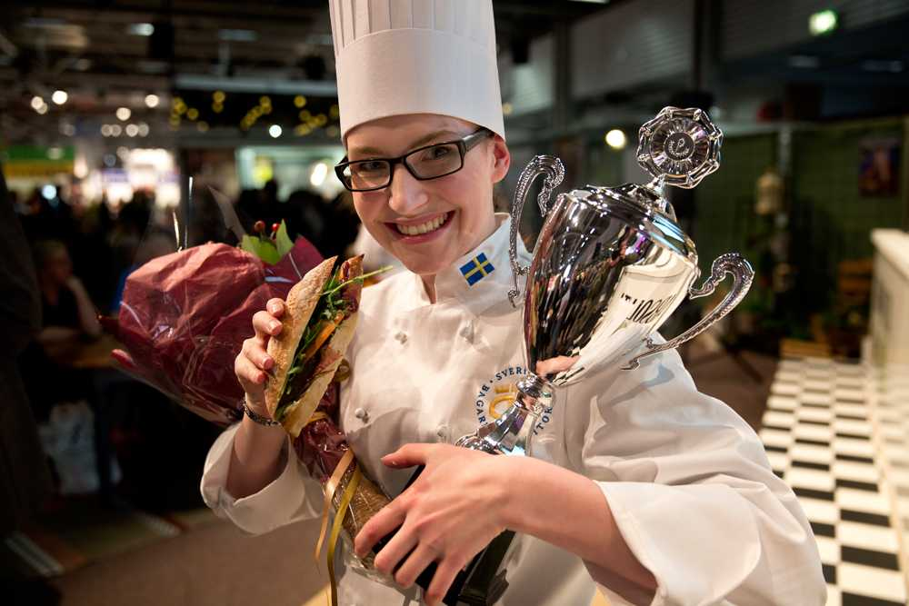 Vinnaren Sarah Wennström.