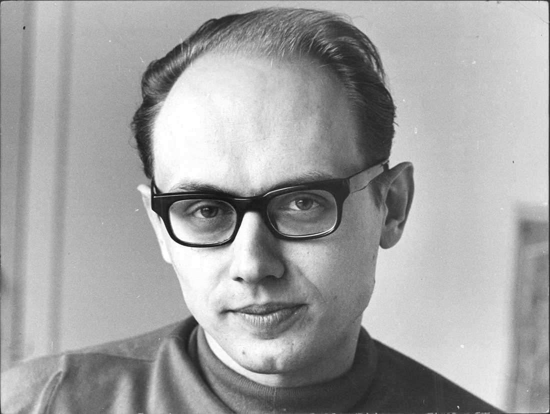 Per Ahlmark 1969, vid den tiden riksdagsledamot för Folkpariet.