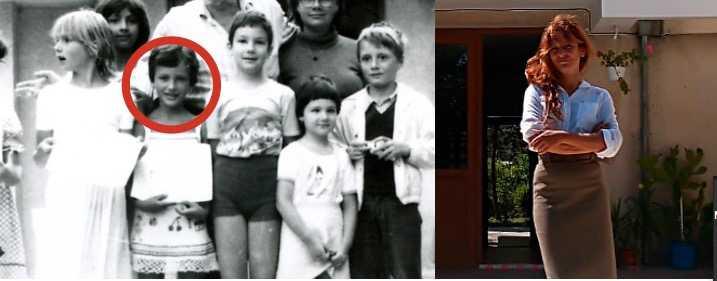 Sinziana Ravini – då och nu.