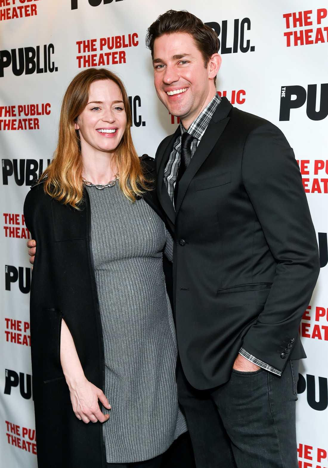 Emily Blunt och John Krasinski