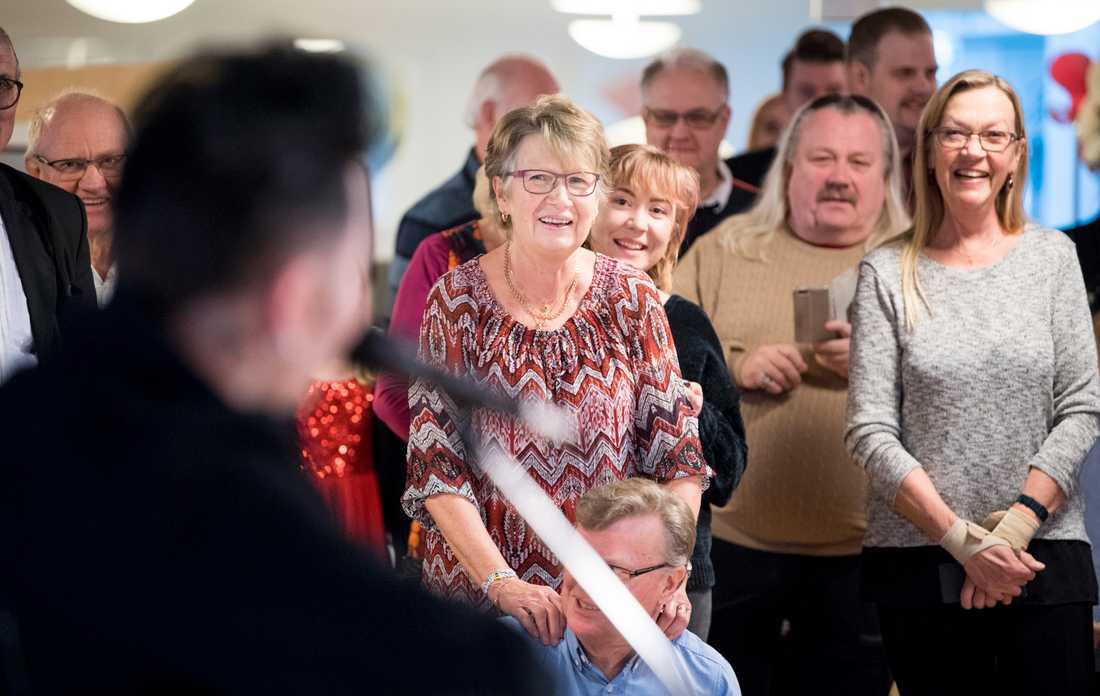 Anita Nyström har arrangerat julgransplundring varje år sedan 1989.
