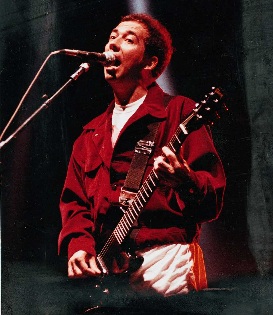Pete Shelley 1980.