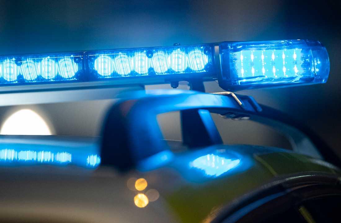 Polisen jagade en personbil från Timrå till Sundsvallsbron. Arkivbild.