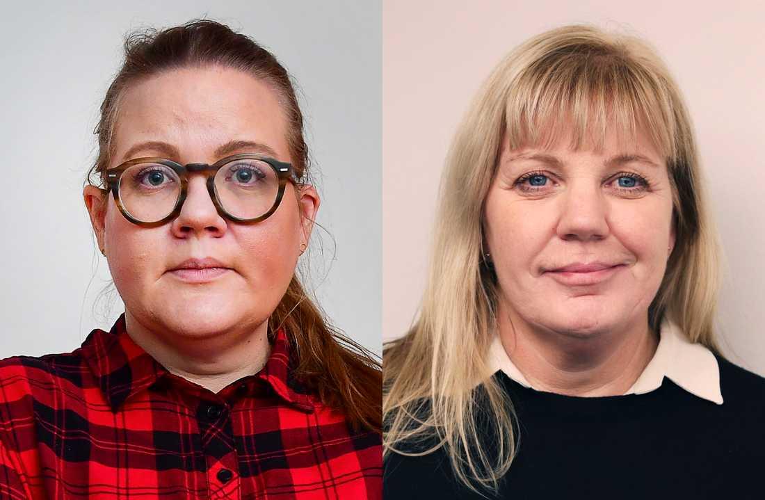 Norges nya karantänsregler har ställt till det i livet för svenskarna Caroline Danielsen och Anna Rapp.