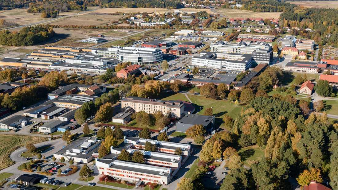 SLU:s campus i Uppsala.