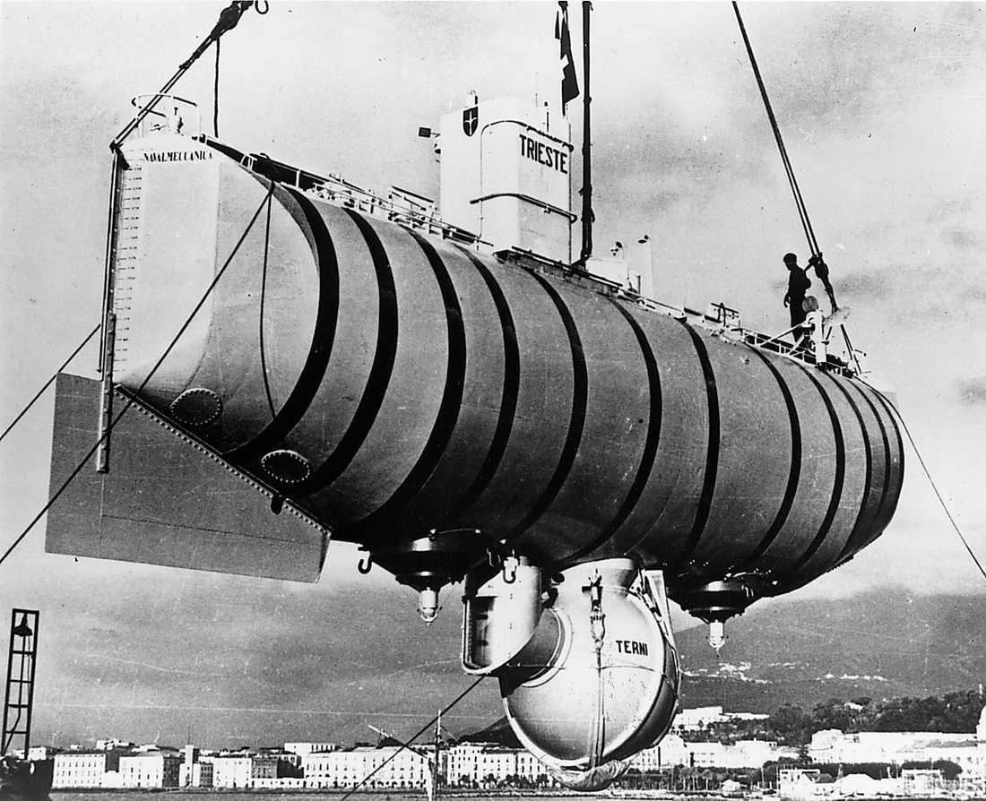 Den enda båten som lyckats ta sig ner till jordens djupaste djup – tills nu.