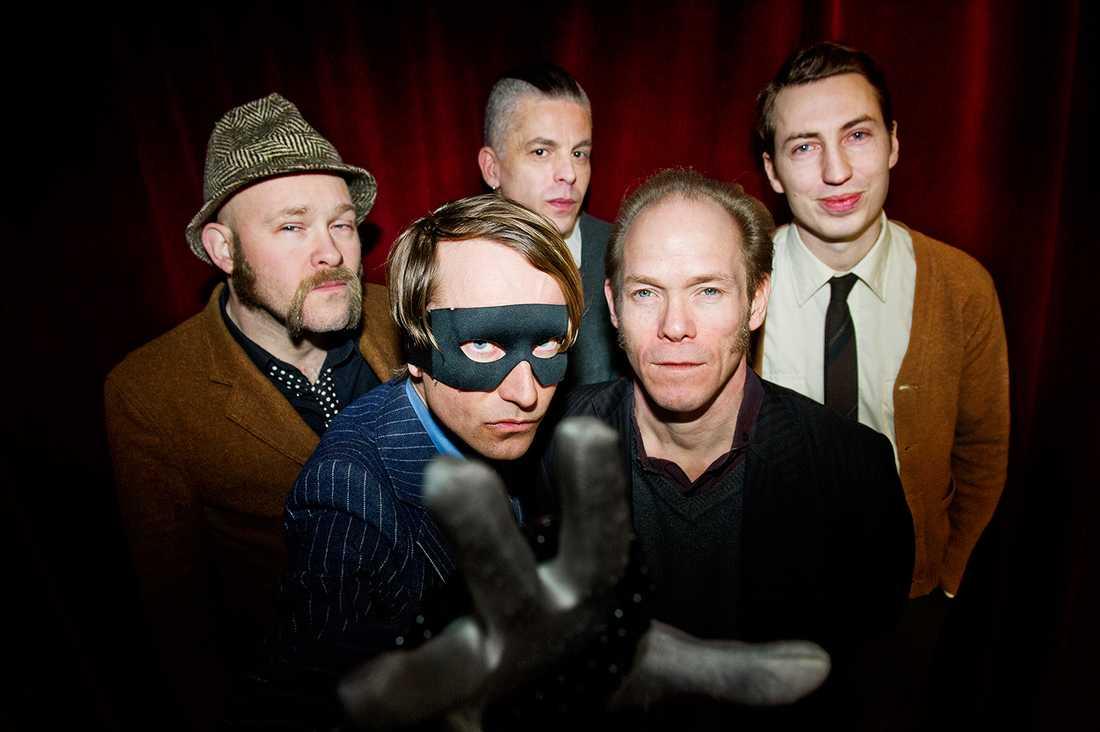 Bob Hund: Conny Nimmersjö, Thomas Öberg, Johnny Essing, Christian Gabel, Mats Hellquist.