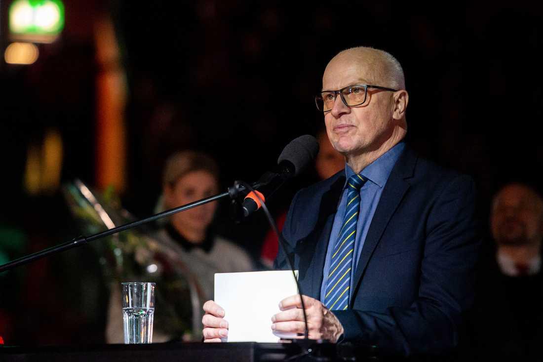 Sture Andersson hyllades inför Modo–Timrå.