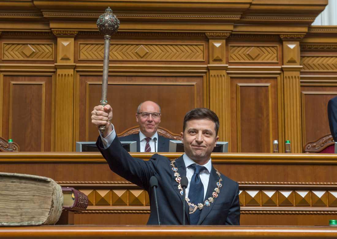 Ukrainas nye president Volodymyr Zelenskyj.