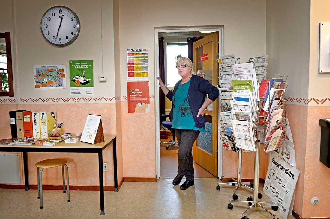 Maria Nilsson, 55, (V) och med i Kommunal.
