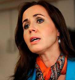 Filippa Reinfeldt var landstingsråd. Nu jobbar hon på ett privat vårdbolag.