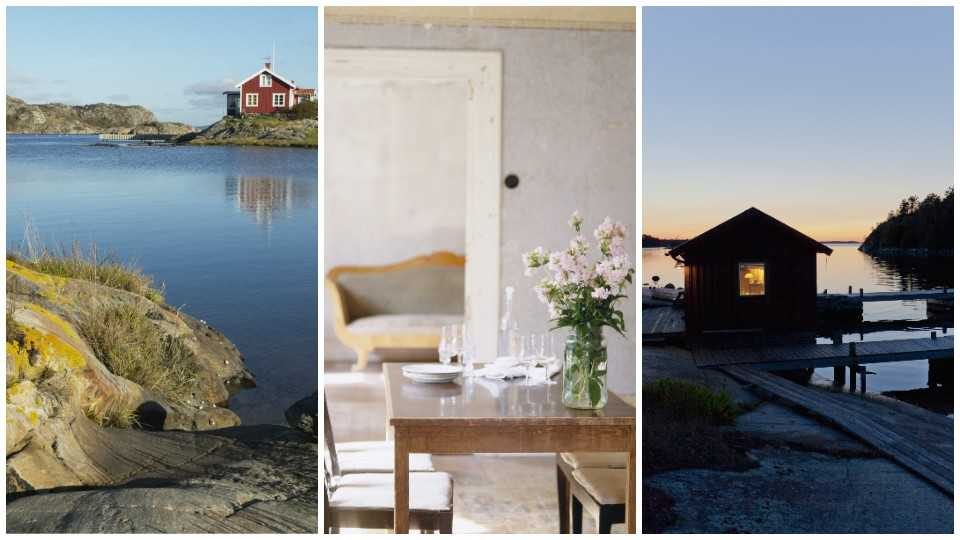 Svenska stugor är allra populäraste men även storstadslägenheter.