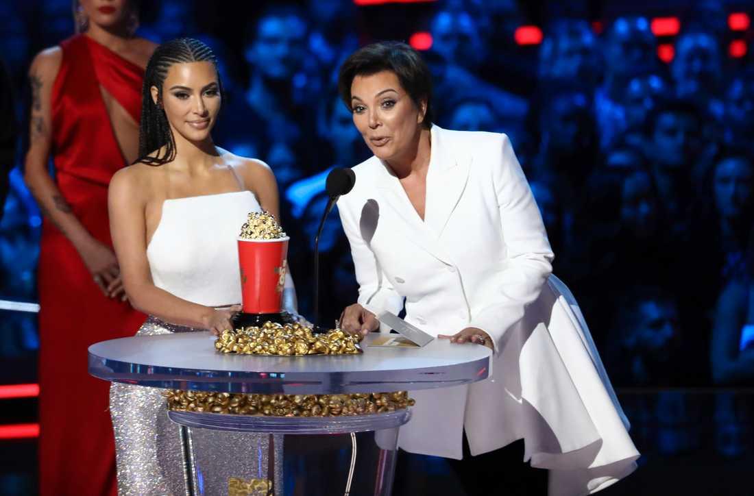Kim Kardashian West och Kris Jenner.
