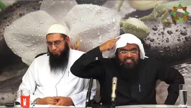 Abu Saad och sheikh Muhammad al-Shahrani