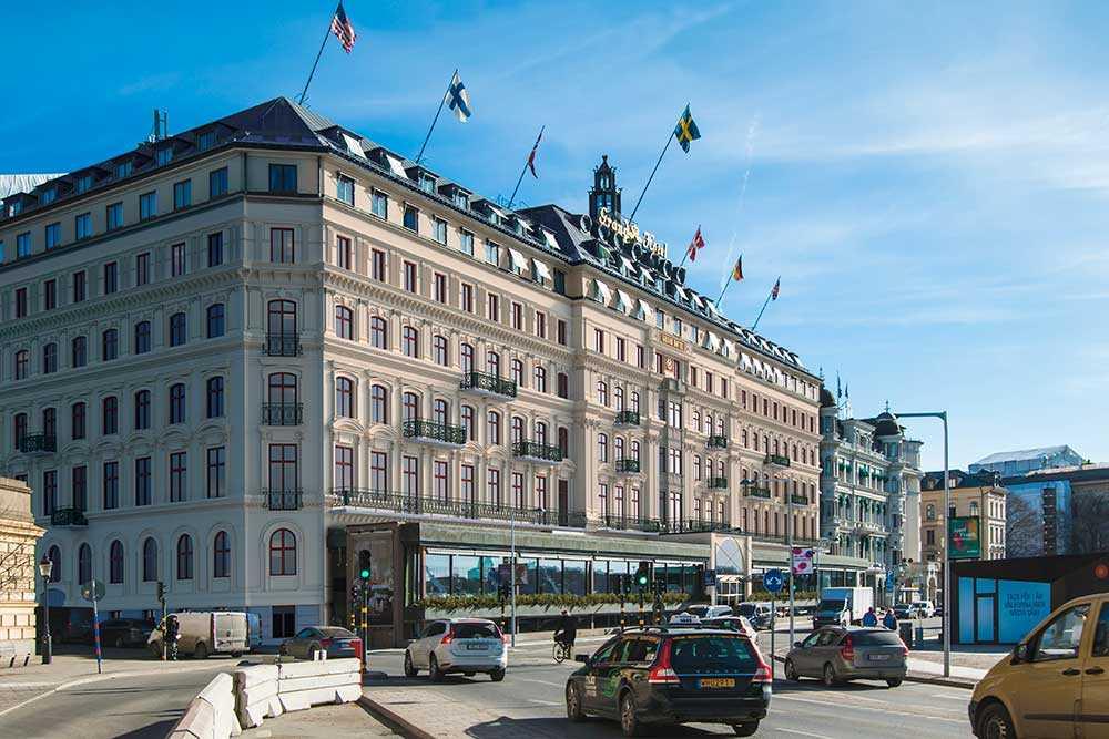Grand Hotel öppnade 1874 och arrangerade den allra första Nobelsupén 1901. Ända till 1929 fick festen rum i Spegelsalen.