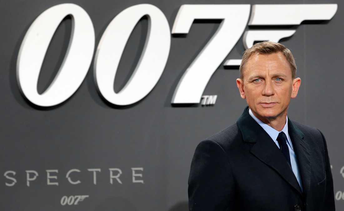 Daniel Craig spelade huvudrollen i den nya Bond-filmen som är uppskjuten till november.