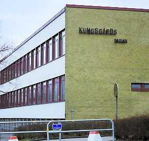 Kungsgårdsskolan i Ängelholm.