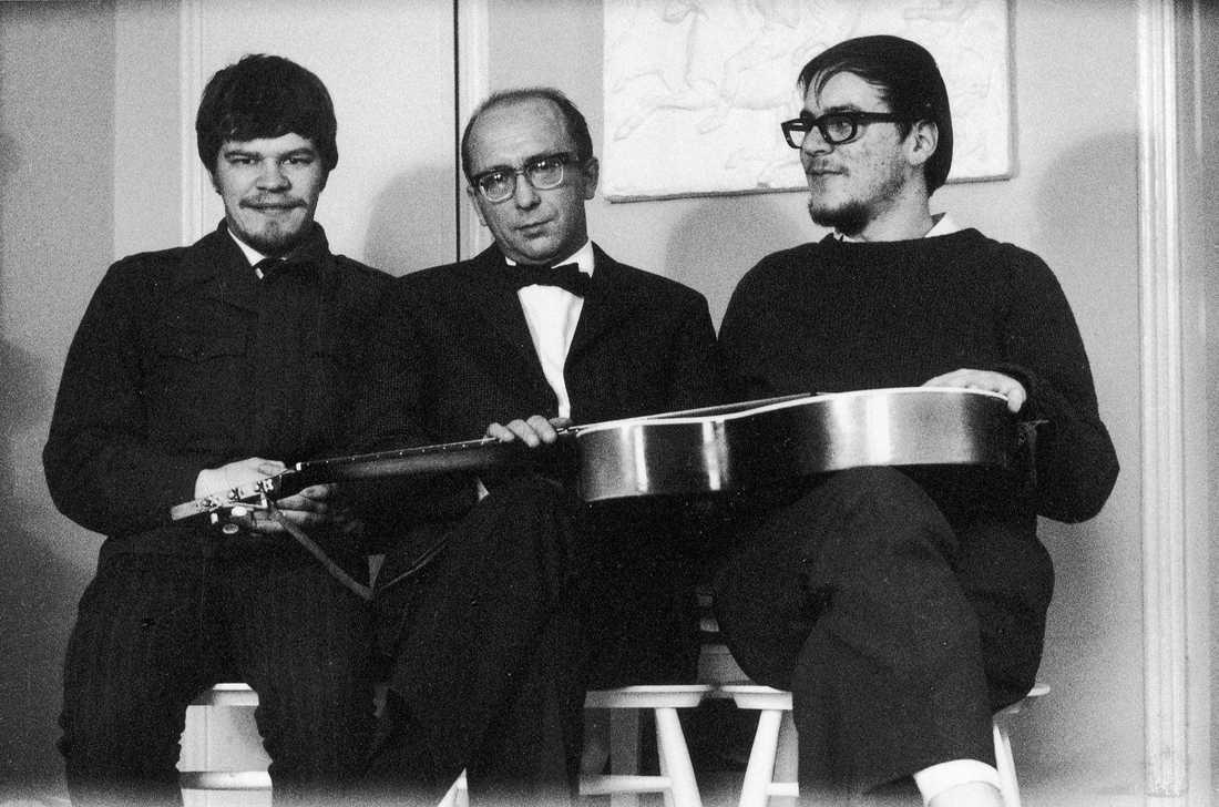 M.A. Numminen, Unto Mononen och Pekka Gronow.