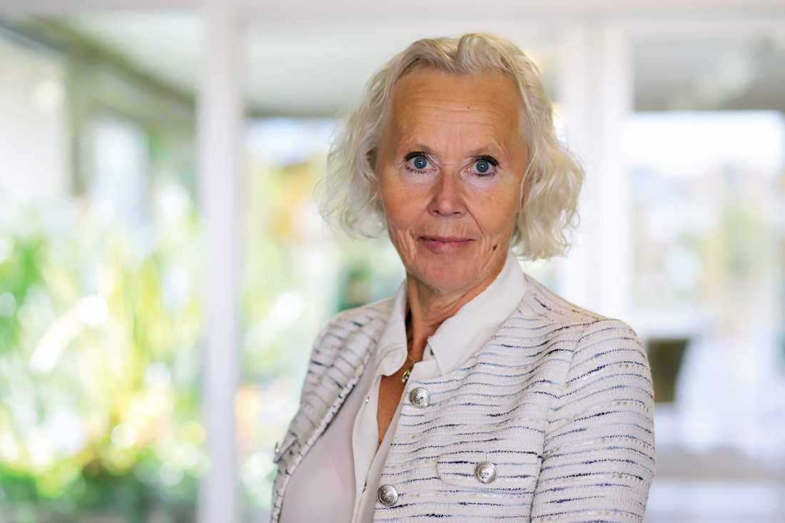 Lena Carlsson, sjukhusdirektör i Region Västernorrland.