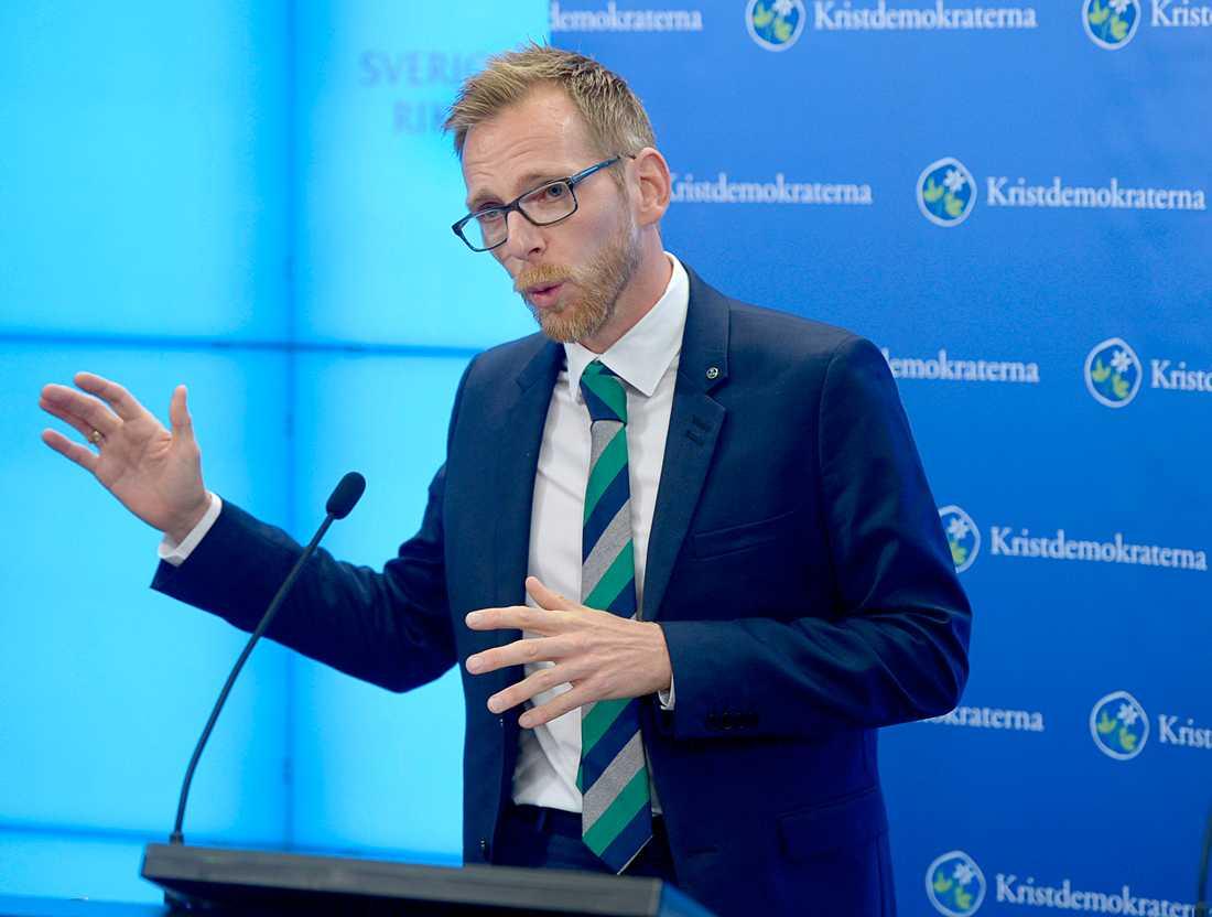 Kristdemokraterna med Jakob Forssmed behöver komma med andra förslag om de vill underlätta för arbetslösa, skriver Ingvar Persson.