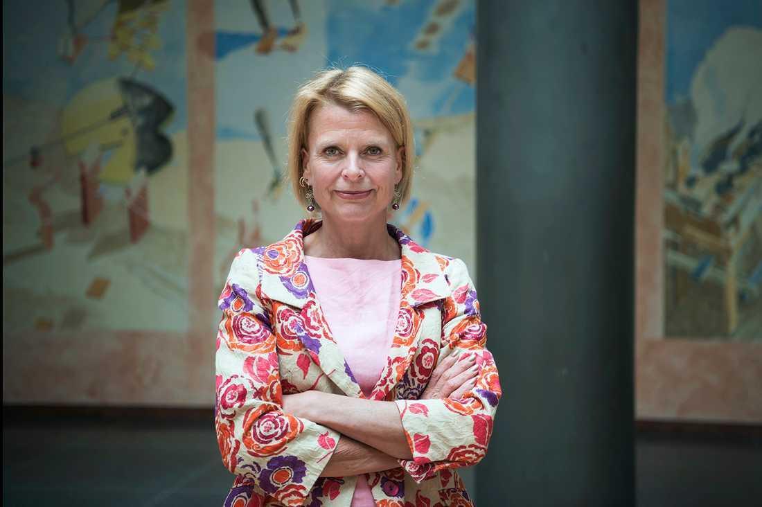 Barn- och äldreminister Åsa Regnér.