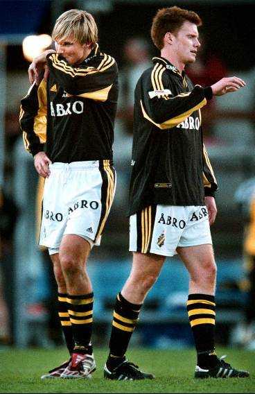 De förra Göteborgspelarna, AIK-arna Andreas Andersson och Patric Andersson, blev mållösa på sin gamla hemmaaren i går.