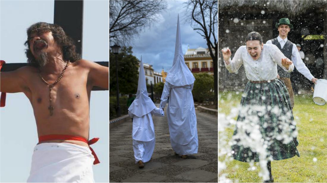 Sättet att fira påsk på skiljer sig runt om i världen.