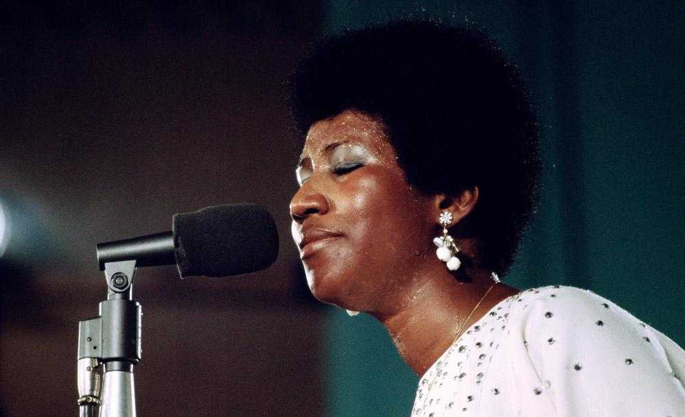 "Aretha Franklin i ""Amazing grace""."