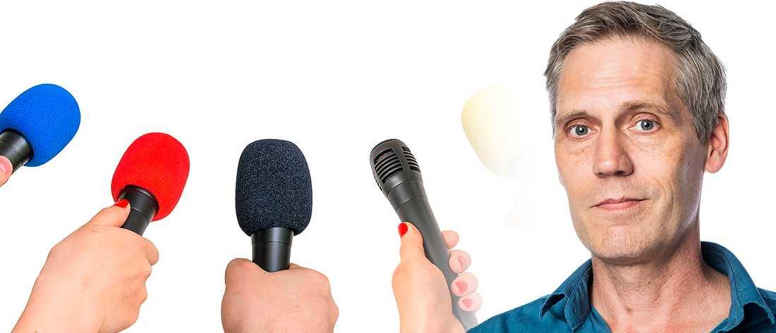 En belgisk studie visar att journalisternas uppfattning av den allmänna opinionen inte överensstämmer med verkligheten. En förklaring kan vara att medierna blir lurade av högerkrafternas stora aktivitet  i sociala medier.