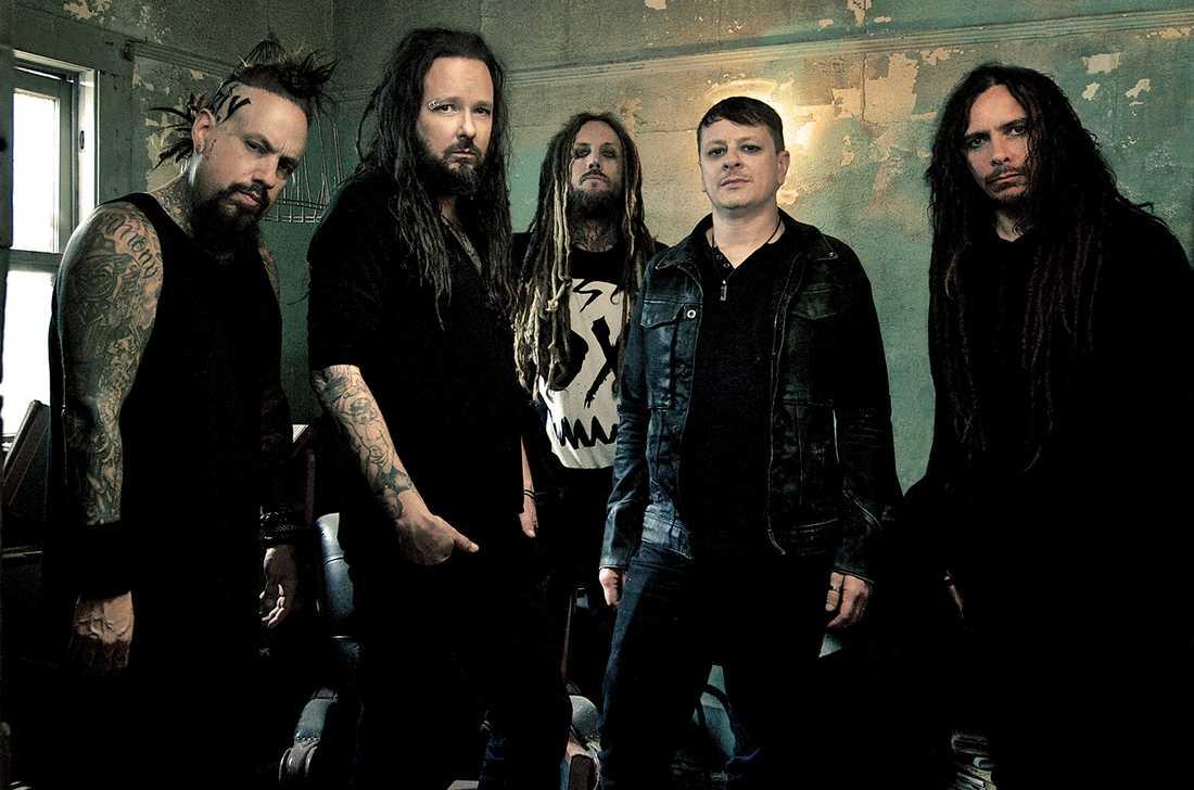 Den 13 september släpper Korn nytt album – spännande!