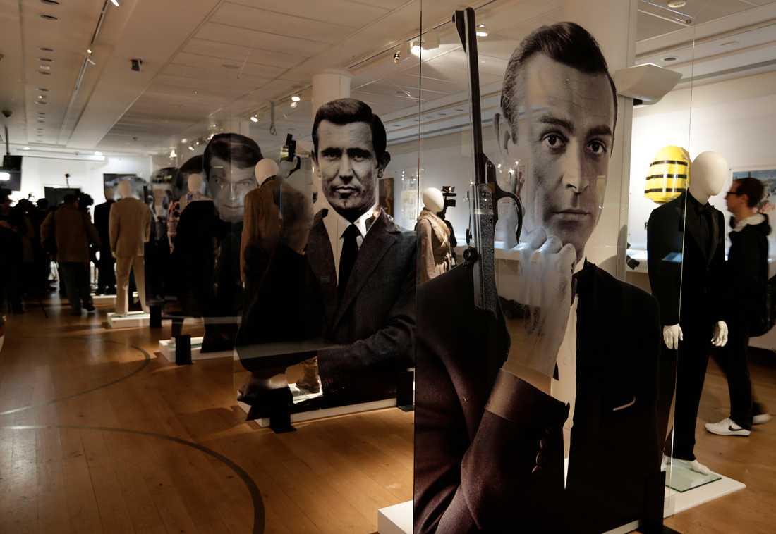 James Bond existerade inte bara på den vita duken, visar dokument från kalla kriget. Arkivbild.