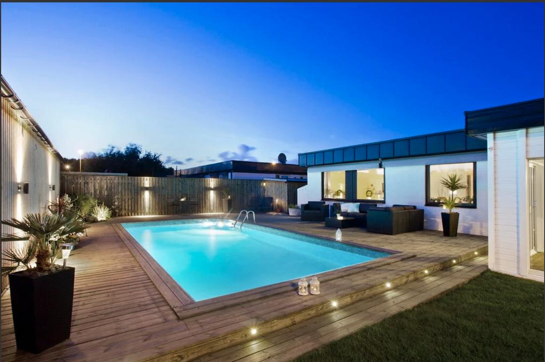 Enplansvillan med pool i Riseberga toppade klicktoppen förra veckan.