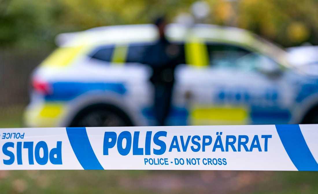 Två personer har häktats misstänkta för inblandning i en explosion i ett flerfamiljshus i Uppsala i september. Arkivbild.