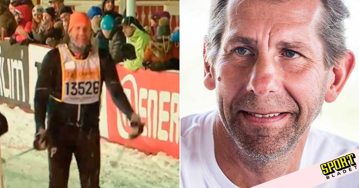 Wislander åkte vasan fyra månader efter stroken