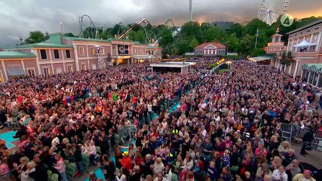"""Ur måndagens """"Lotta på Liseberg""""."""